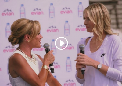 Evian Bottle Launch