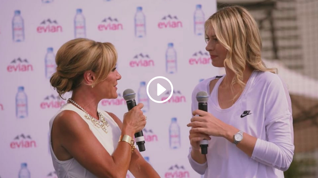 Evian Bottle Launch