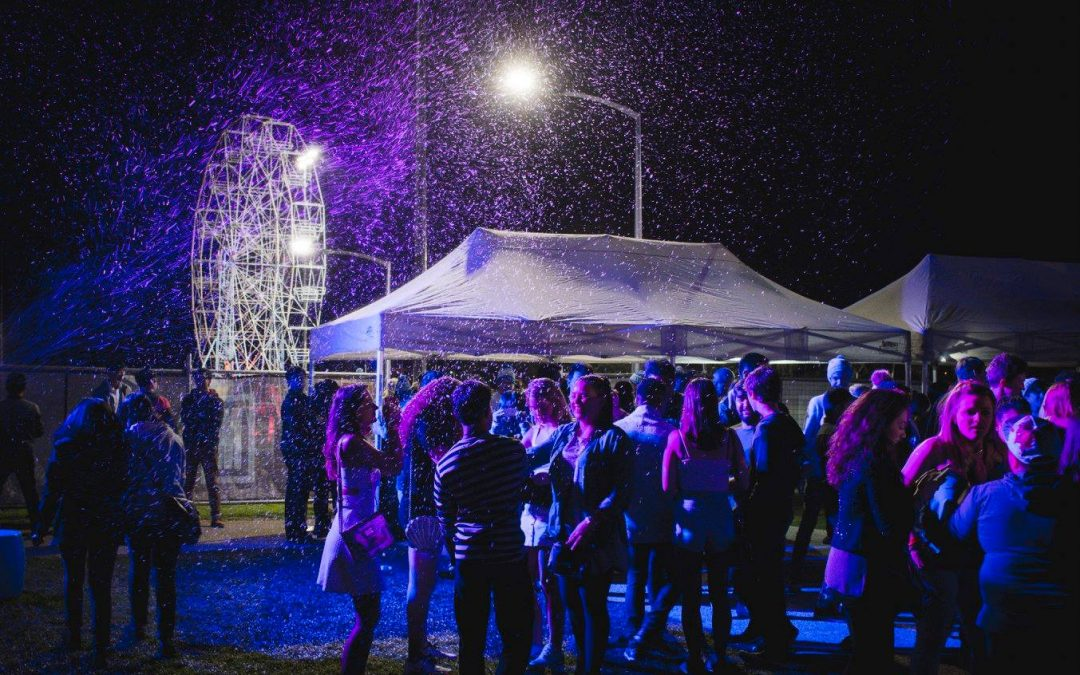 Monash University #WinterFest Snow Party