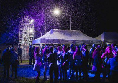 Monash University #WinterFest Snow Party